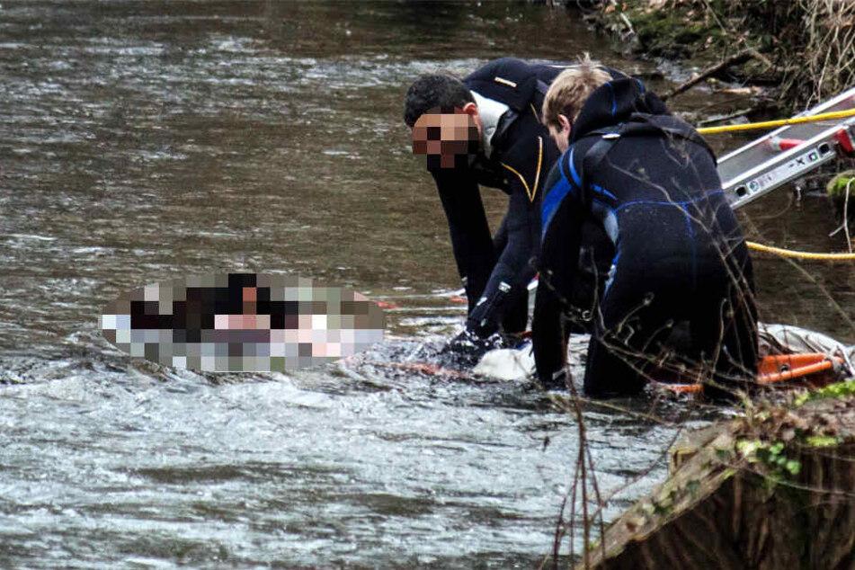 Die Leiche wurde geborgen, noch ist unklar ob es sich um den Vermissten aus Gera handelt (Symbolbild).