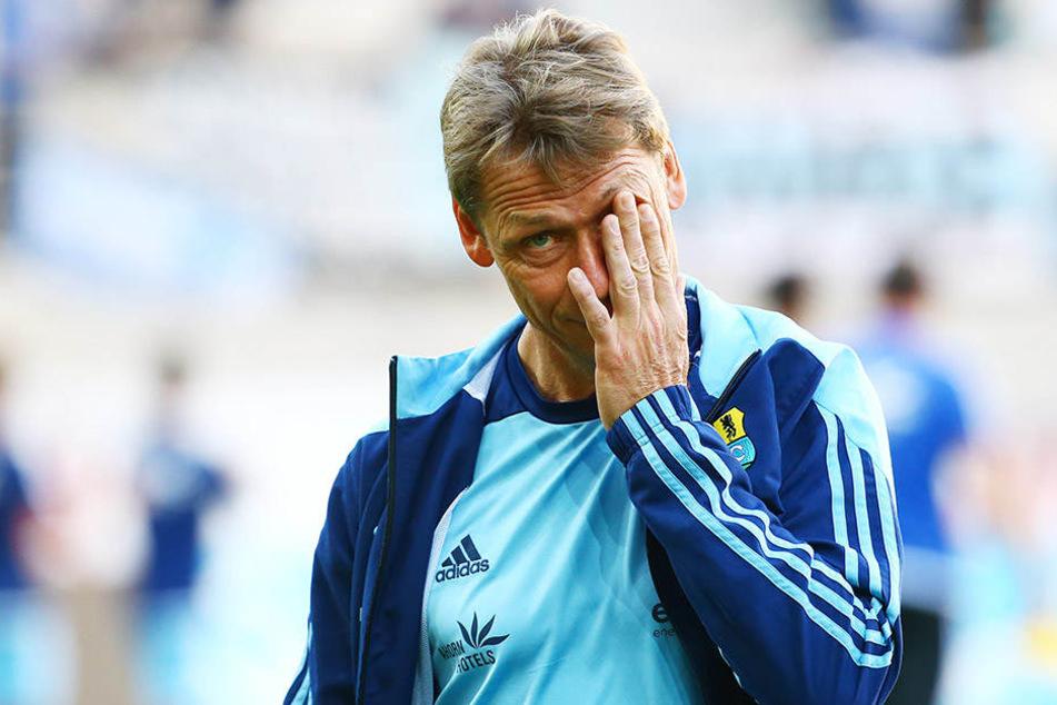 Nur zwölf Punkte, im Niemandsland der Liga - der Blick auf die Tabelle bereitet Trainer Sven Köhler keine Freude.