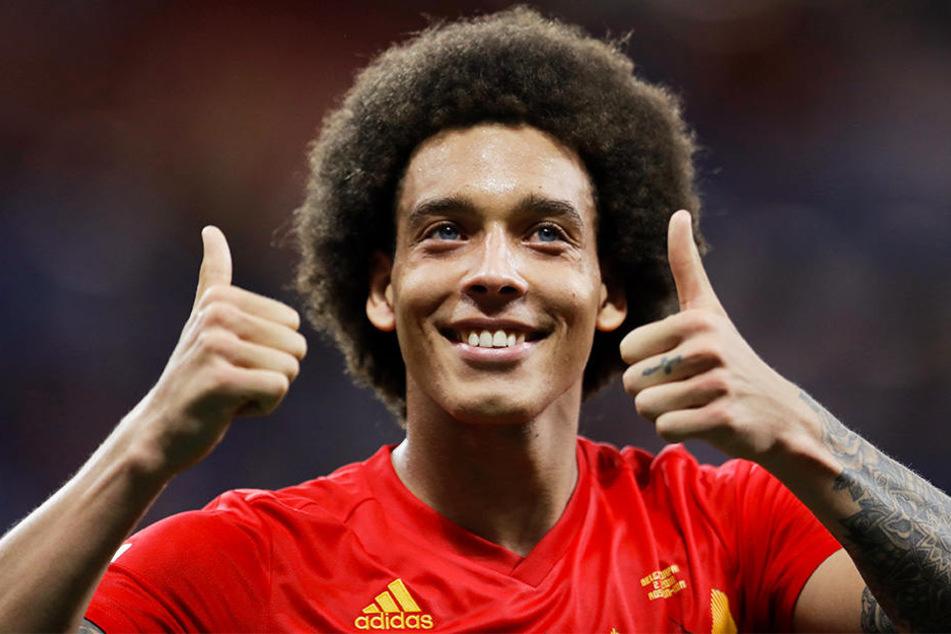 Wird in Zukunft für Borussia Dortmund spielen: Belgiens Nationalspieler Axel Witsel.