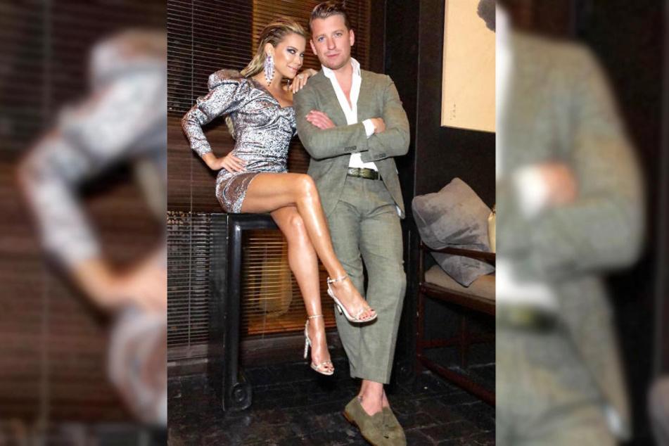 Sylvie Meis und Partner Bart Willemsen verbrachten den Jahreswechsel in Miami.