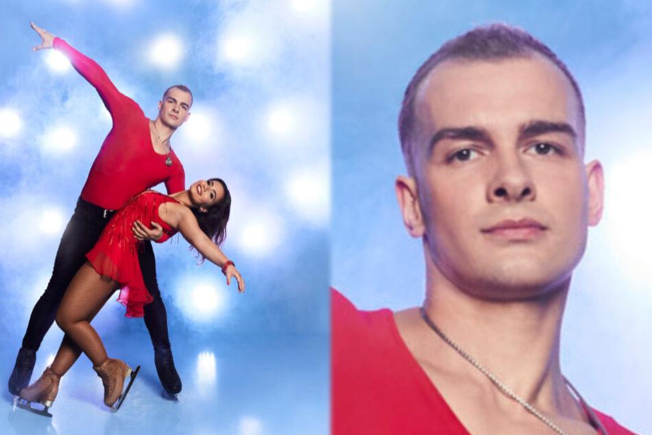 Dresden: Dancing on Ice: Ex-GZSZ-Star Eric Stehfest wagt sich heute aufs Glatteis
