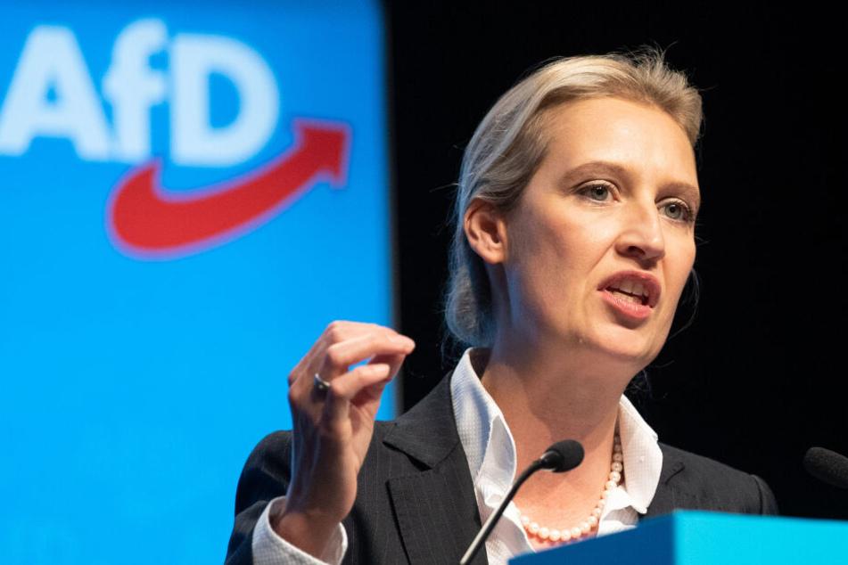 AfD-Bundestagsfraktionschefin Alice Weidel will für den Landesvorsitz antreten.