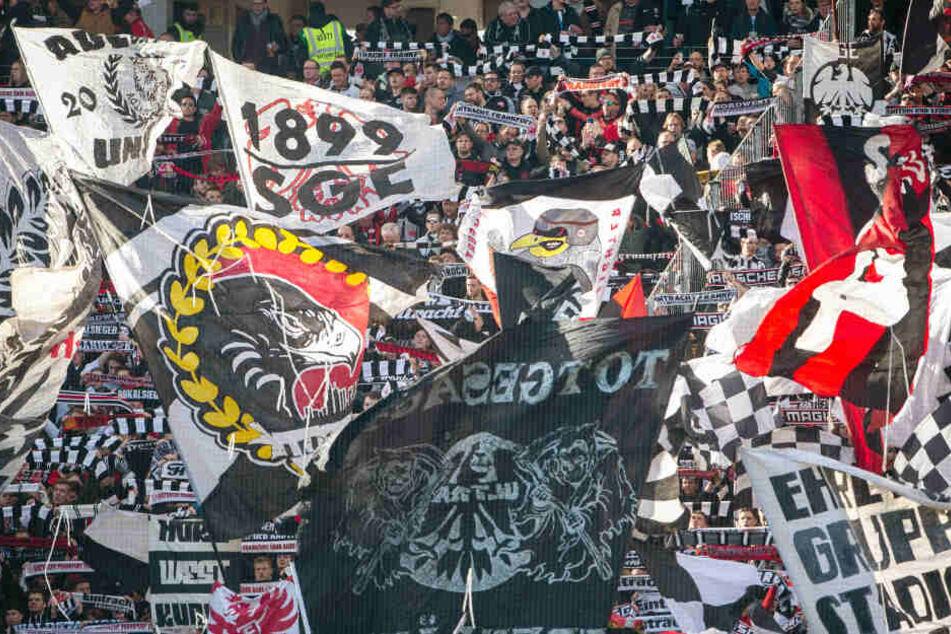 Die Eintracht kann auch gegen Inter voll auf ihre Fans bauen.