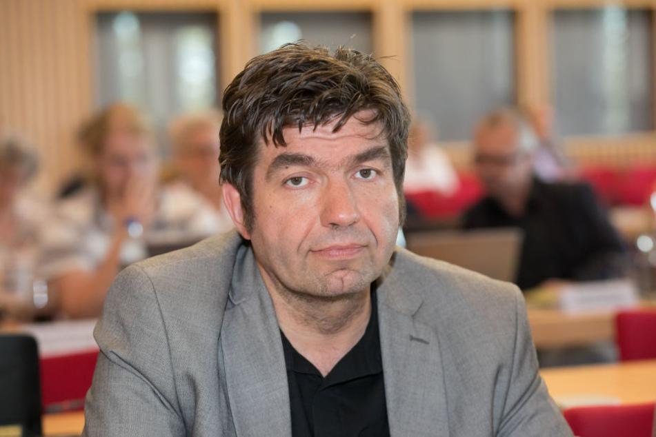 Ärgert sich über die Stadtverwaltung: Linke-Stadtrat Jens Matthis (50).