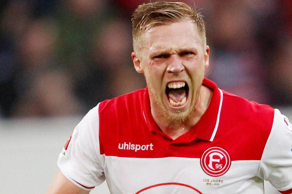 Rouwen Hennings erzielte per Foulelfmeter das 1:0 (38. Minute)