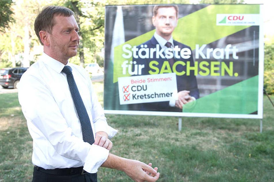 Sachsens Ministerpräsident Michael Kretschmer (44, CDU) sieht den Parteiausschluss Maaßens als den falschen Weg.