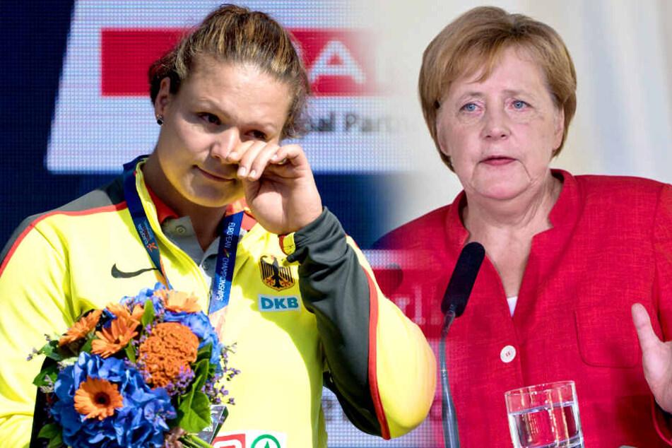 Leichtathleten sauer: Warum war Merkel nicht bei der EM?