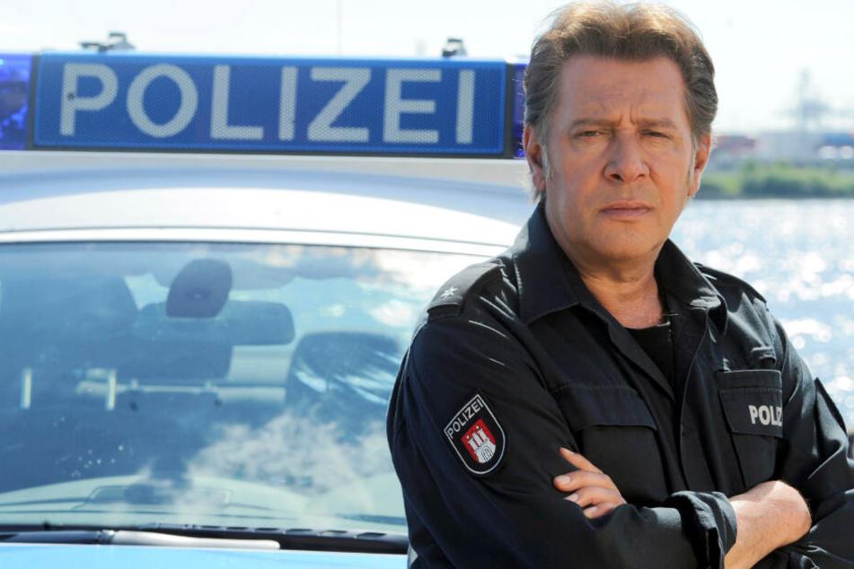 """Schauspieler Jan Fedder in seiner Rolle als Dirk Matthies ist das bekannteste Gesicht der Serie """"Großstadtrevier""""."""