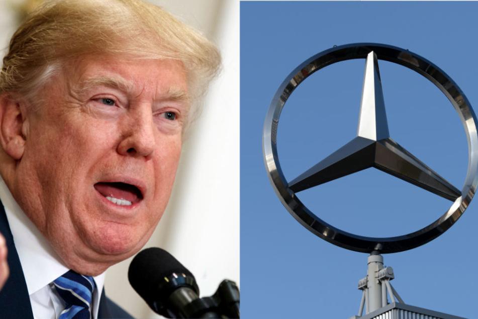 Dank Trump: Milliarden für Daimler