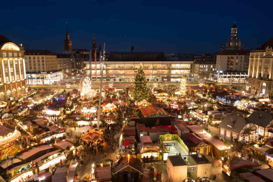 Dresdner Striezelmarkt verursacht 47 Tonnen Müll