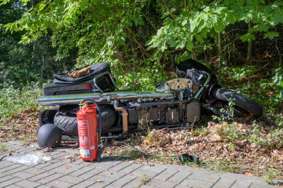 Der Schauspieler verunglückte mit seinem Motorrad.