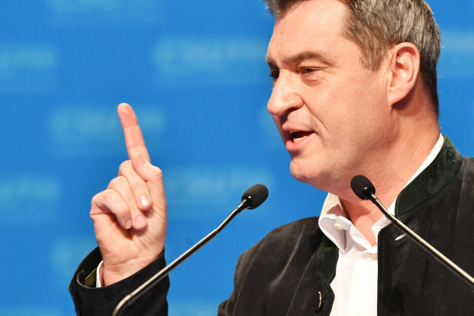 Regierungschef Markus Söder berät sich am Freitag in Bayern mit Experten.