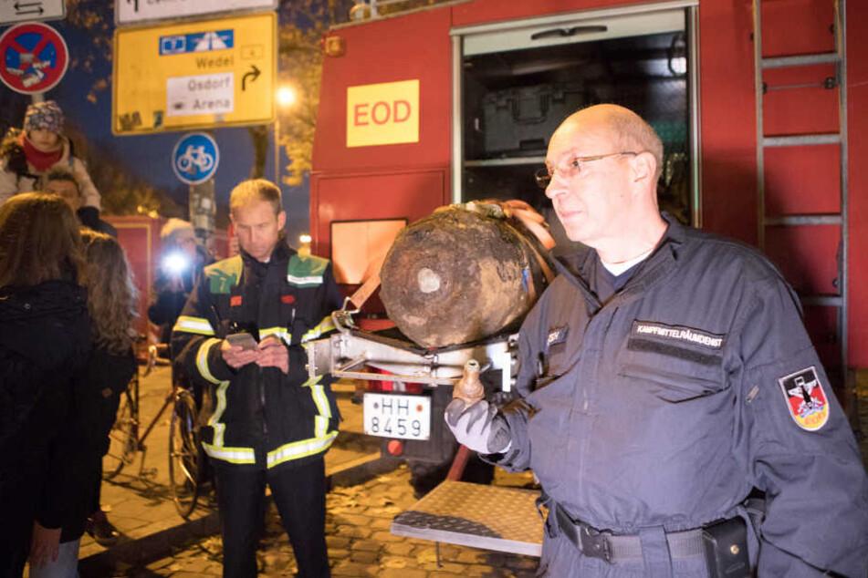 Bombe entschärft - Bewohner können nach Hause