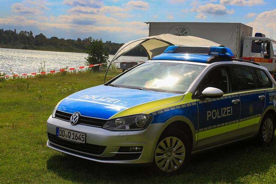Ertrunken? Polizei sucht 20-Jährigen in Pirnaer Badesee