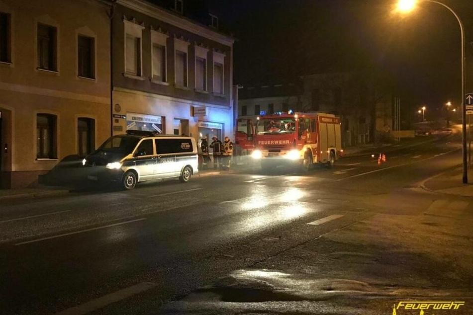 Feuerwehreinsatz: Häuser wegen Gasleck evakuiert
