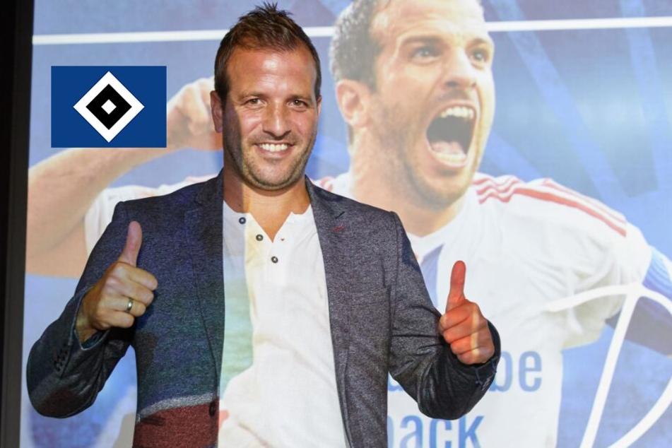 Diese Ex-Profis bringt Rafael van der Vaart mit zum Abschiedsspiel beim HSV