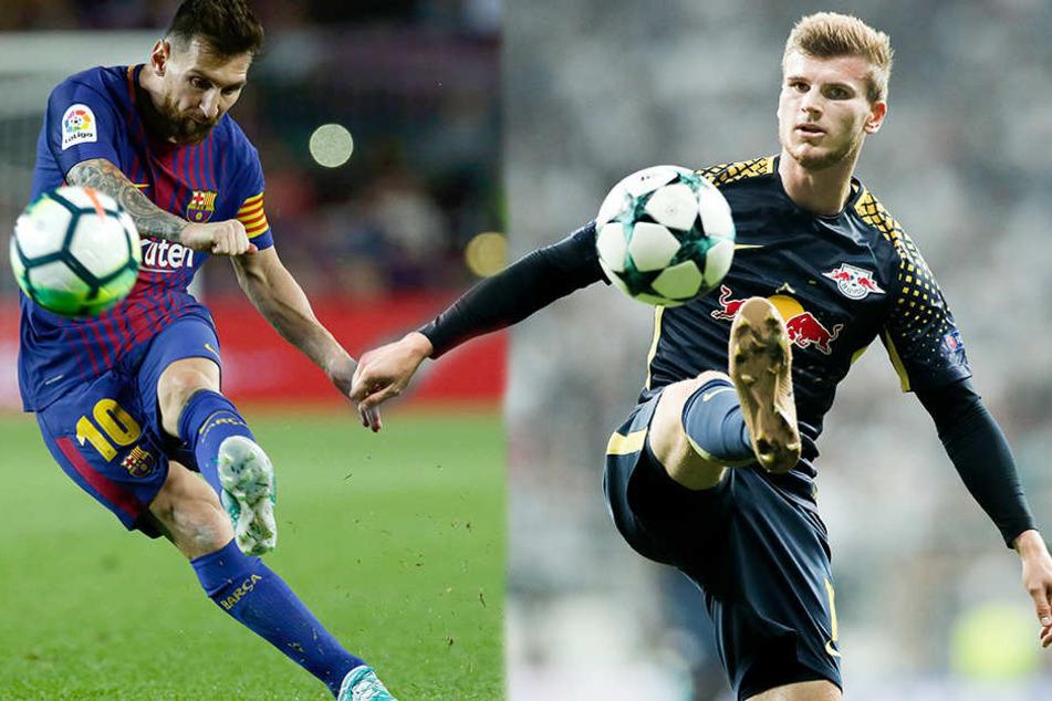 Spielt der Leipziger bald an der Seite von FC Barcelona-Star Lionel Messi?
