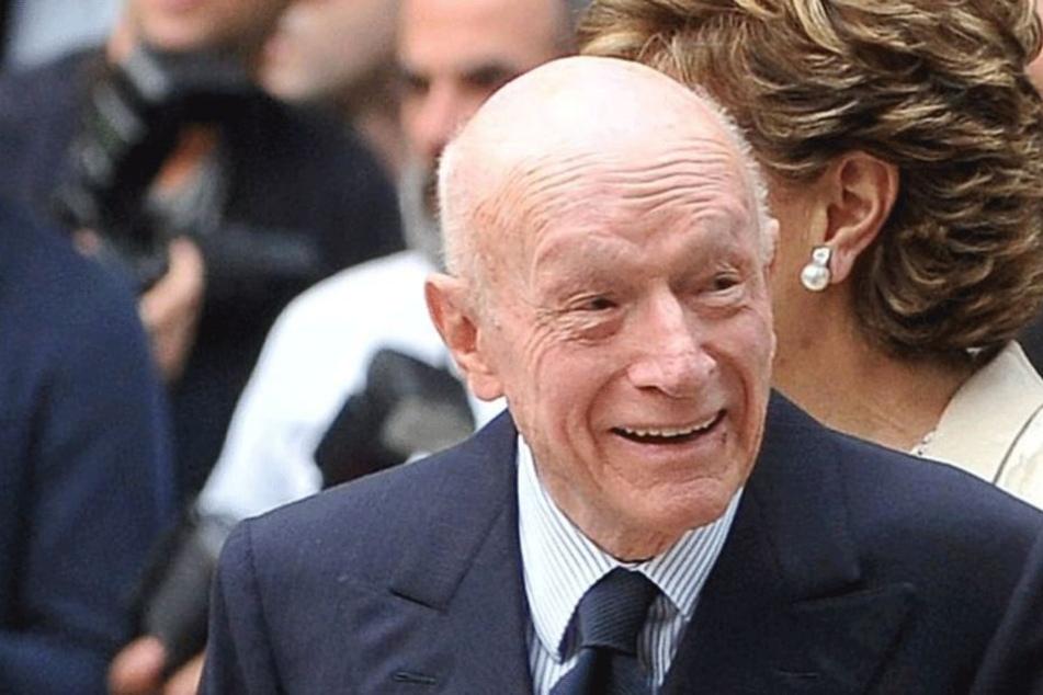 Bernado Caprotti (†90) vererbte seiner Sekretärin 75 Mio. Euro.