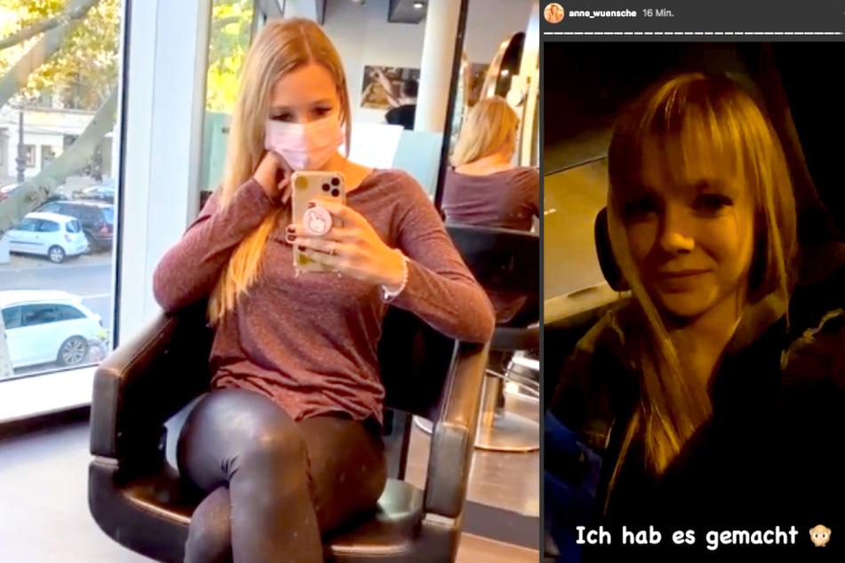 Anne Wünsche (29) trägt jetzt Pony.