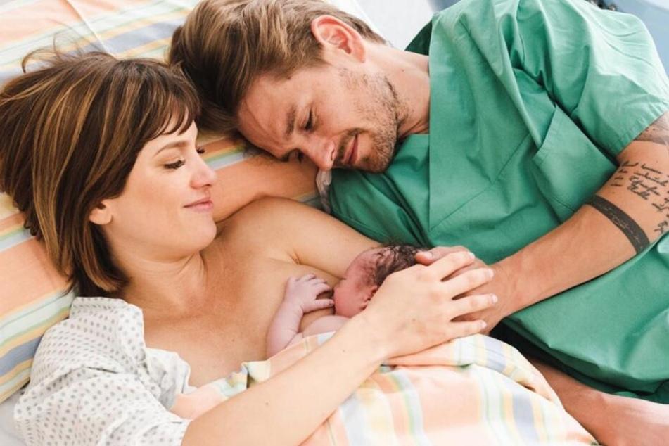 Isabell Horn und Jens Ackermann sind stolze Eltern.