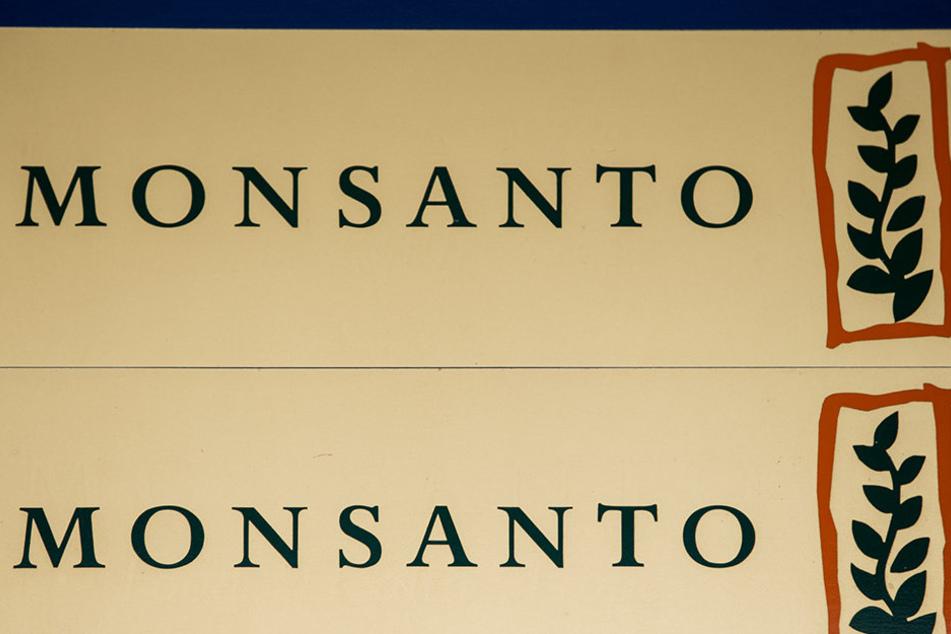 Das Schild am Eingang des Biotechnologie-Konzerns Monsanto im US-Bundesstaat Missouri.