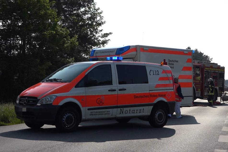 Die Rettungskräfte konnten nur noch den Tod des 72-Jährigen feststellen.