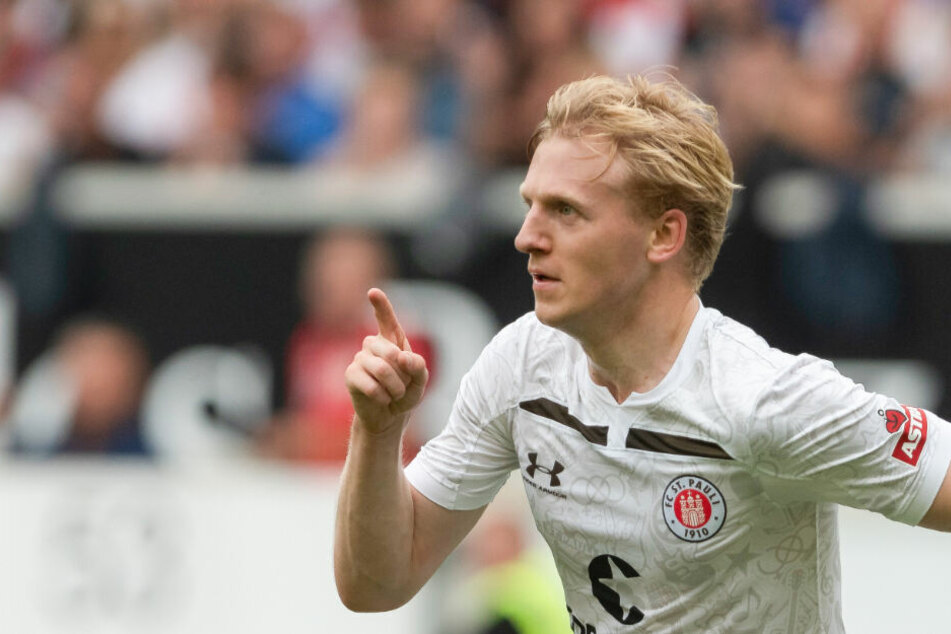 Mats Möller Daehli jubelt nach einem Treffer. (Archivbild)