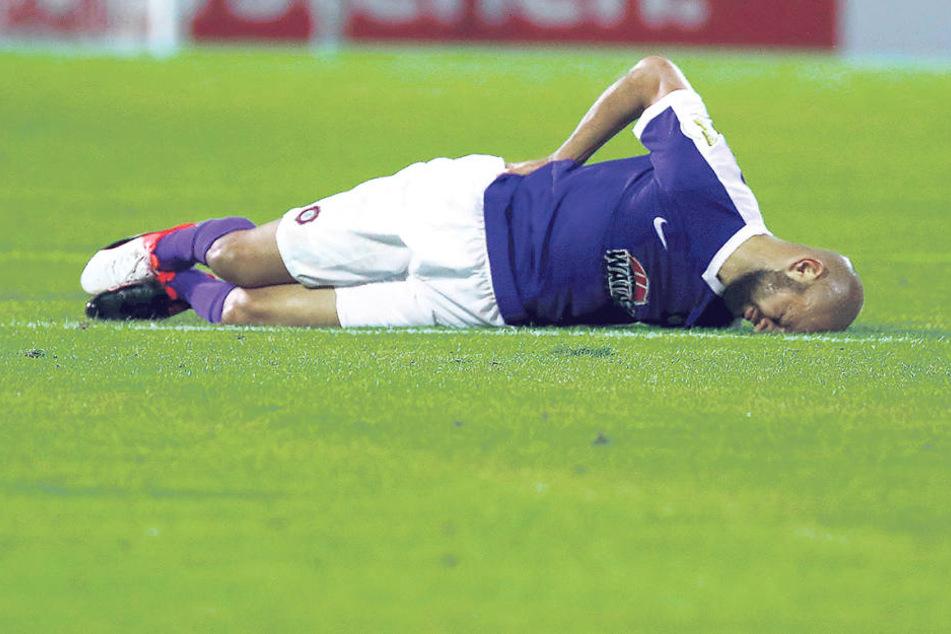 Philipp Riese trainiert nach seiner Rückenverletzungzwar wieder. Ob er in Fürthspielen kann, steht aber noch nicht fest.