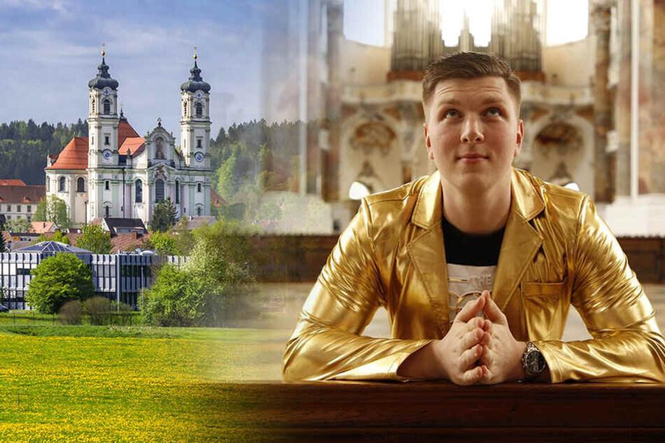 Kein Handy, keine Frauen, kein Geld: Dresdner zieht fürs TV ins Kloster!