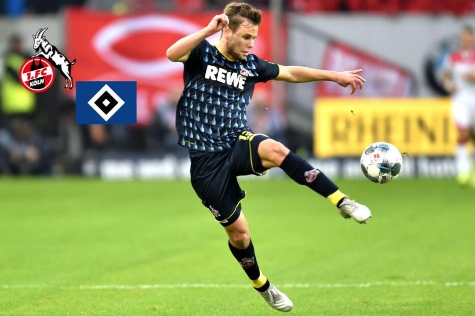 Louis Schaub vom 1. FC Köln offenbar vor Wechsel zum HSV