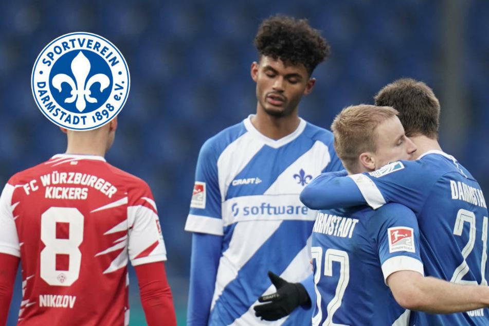 """Nach Arbeitssieg hat der SV Darmstadt 98 """"richtig Bock"""" auf Dynamo im Pokal"""