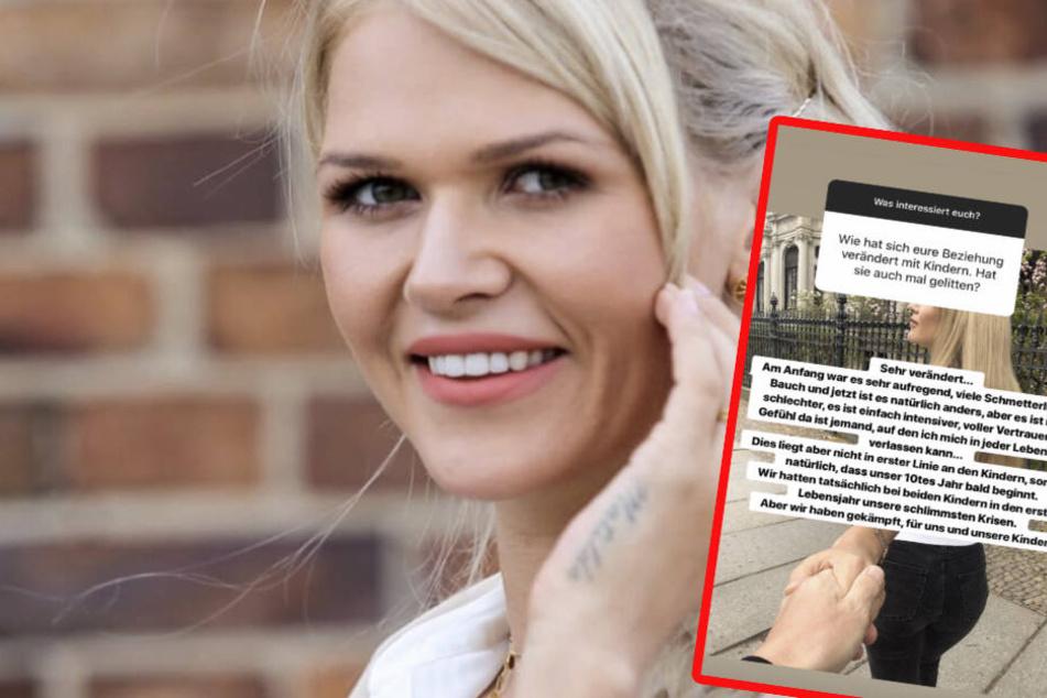 Sara Kulka kann sich in jeder Lebenslage auf ihren Mann verlassen.