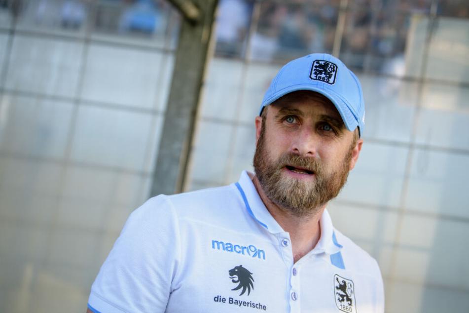 Daniel Bierofka, Trainer des TSV 1860 München.