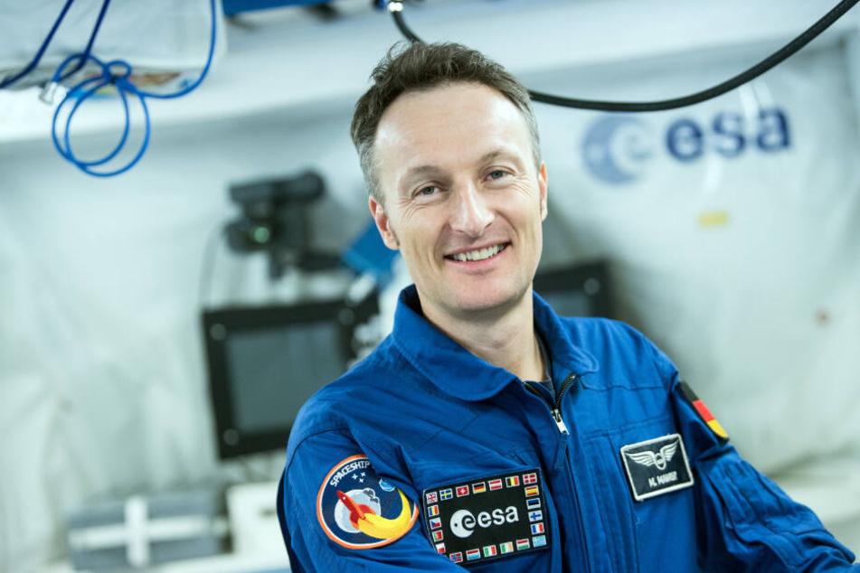 Der ESA-Astronaut Matthias Maurer arbeitet in Köln an der künftigen Raumfahrt zum Mond.