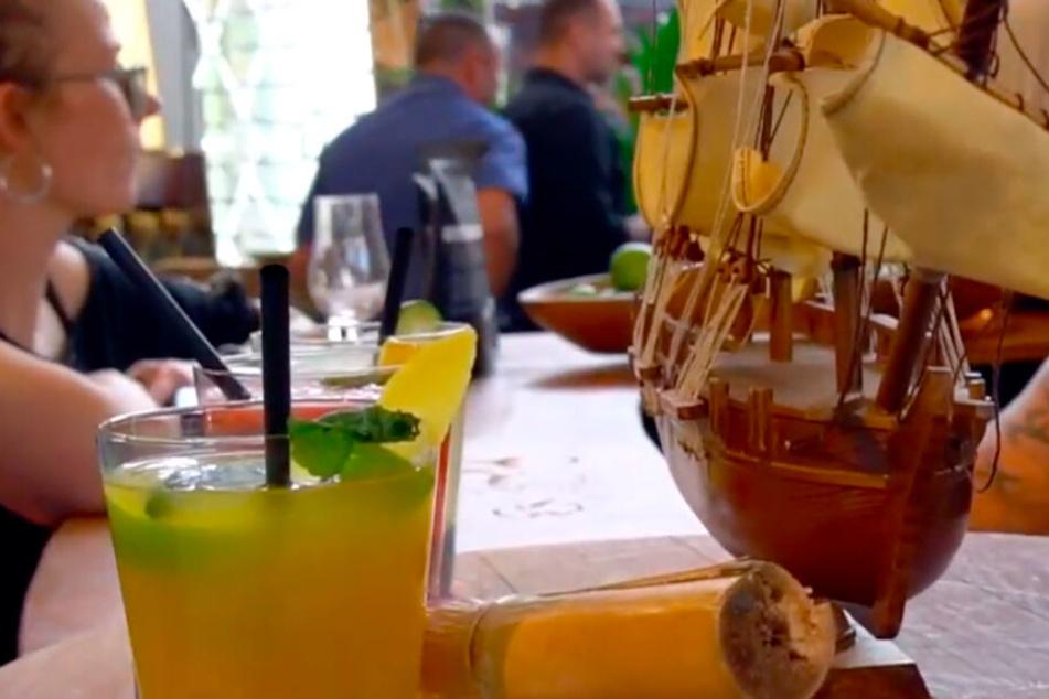 Unter anderem werden Euch feinste Rum-Cocktails gemixt.
