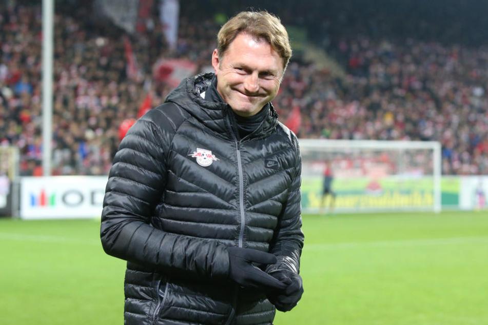 Hat gut Lachen: Ralph Hasenhüttl bestätigt das Interesse von Arsenal London.