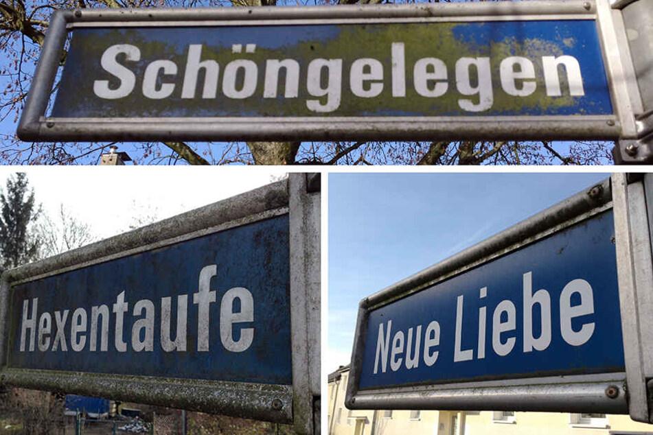 In NRW gibt es schon lustige Straßennamen.