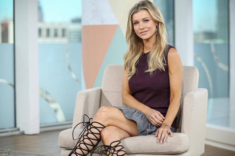 Joanna Krupa macht auch in Kleidern eine gute Figur.