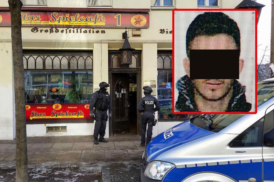 In diesem Haus an der Eisenbahnstraße wurde die Waffe gefunden. Den Ermittlungen zufolge sollte der aus der Türkei eingereiste Ö. (26, Bild) den Blutrache-Mord begehen.