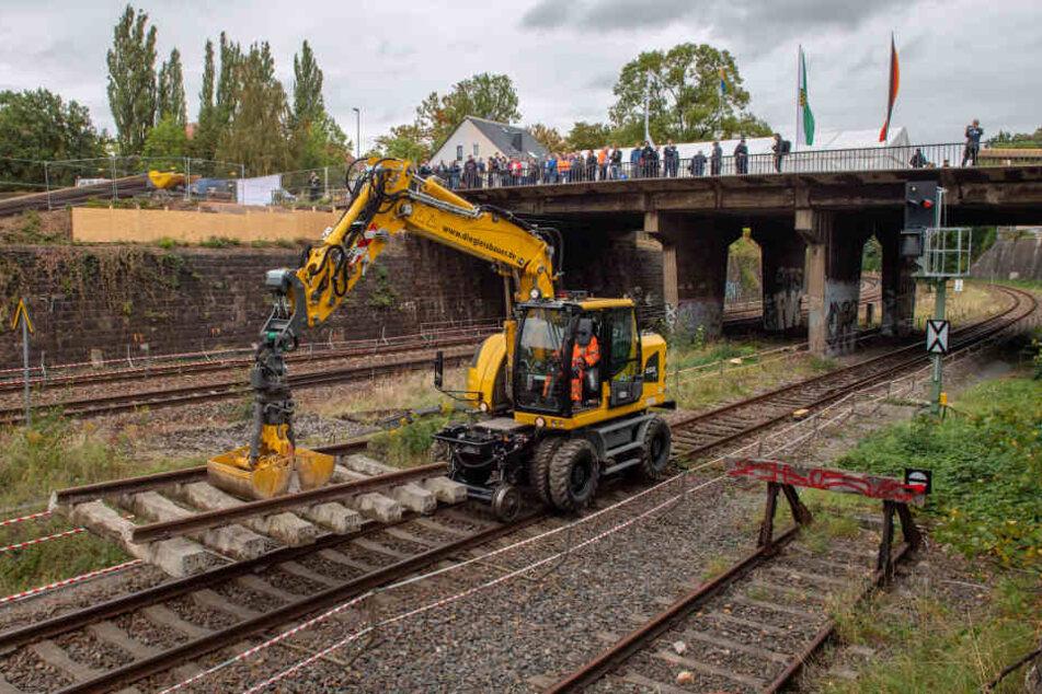 Bis 2021 wird der Chemnitzer Bahnbogen saniert.