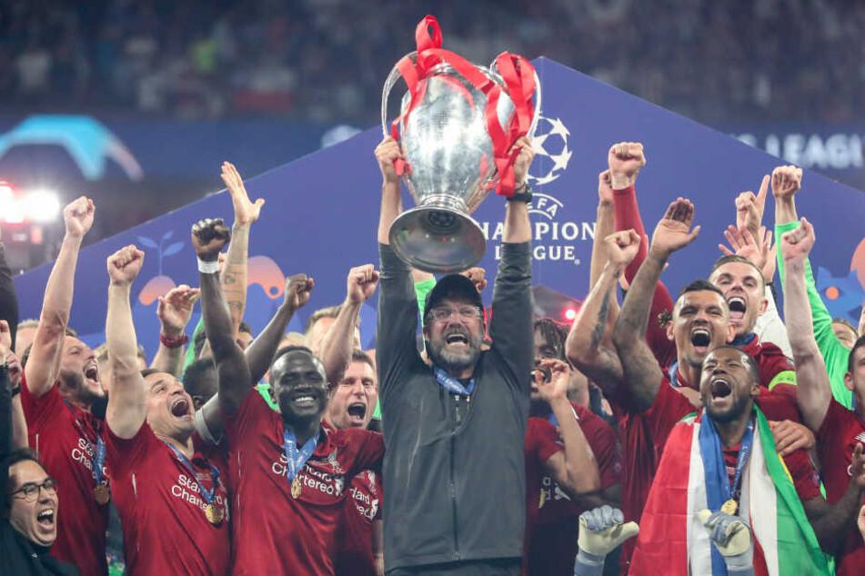 Der FC Liverpool von Trainer Jürgen Klopp ist amtierender Champions-League-Titelverteidiger.