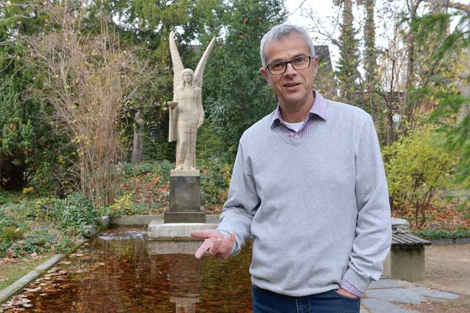 Museums-Chef Christian Wacker möchte das Karl-May-Museum mit einem Neubau aufmotzen.