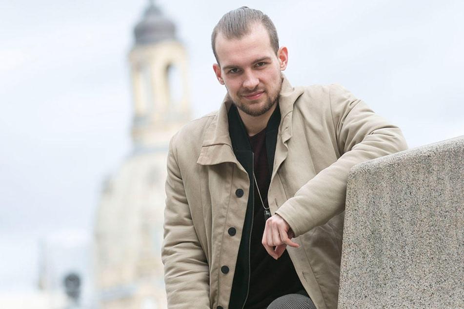 Eric Stehfest wird am 2. Dezember erneut in Dresden lesen.