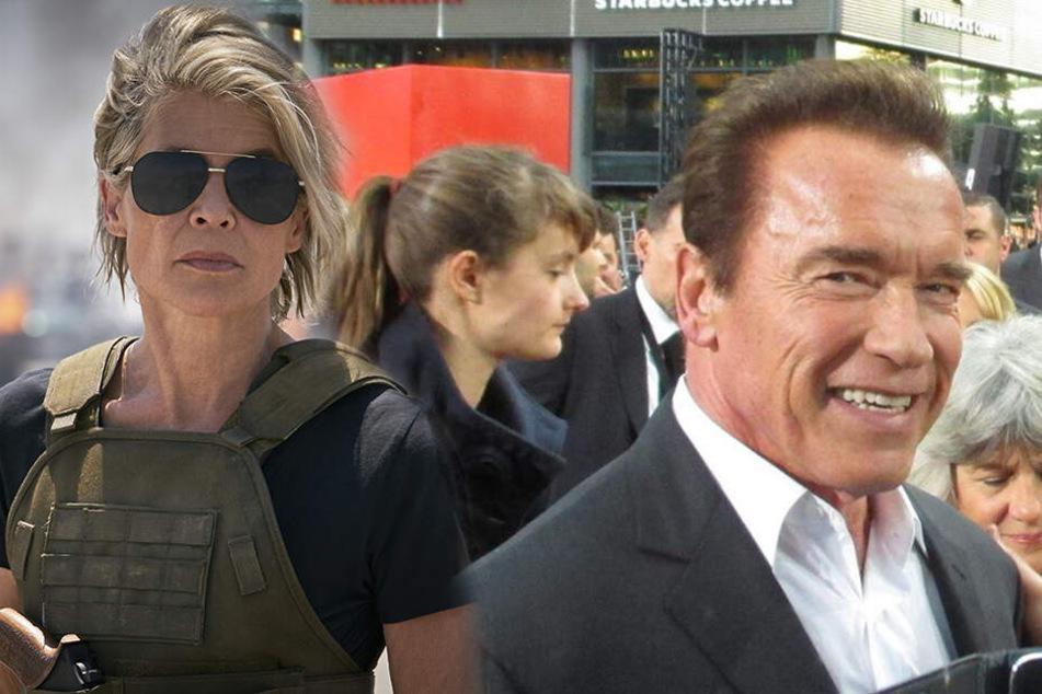 """Er ist zurück! Seht hier die geilen Fotos zu """"Terminator: Dark Fate"""" mit Arnie!"""