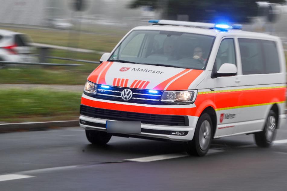 Die Frau wurde ins Augsburger Klinikum gebracht. (Symbolbild)