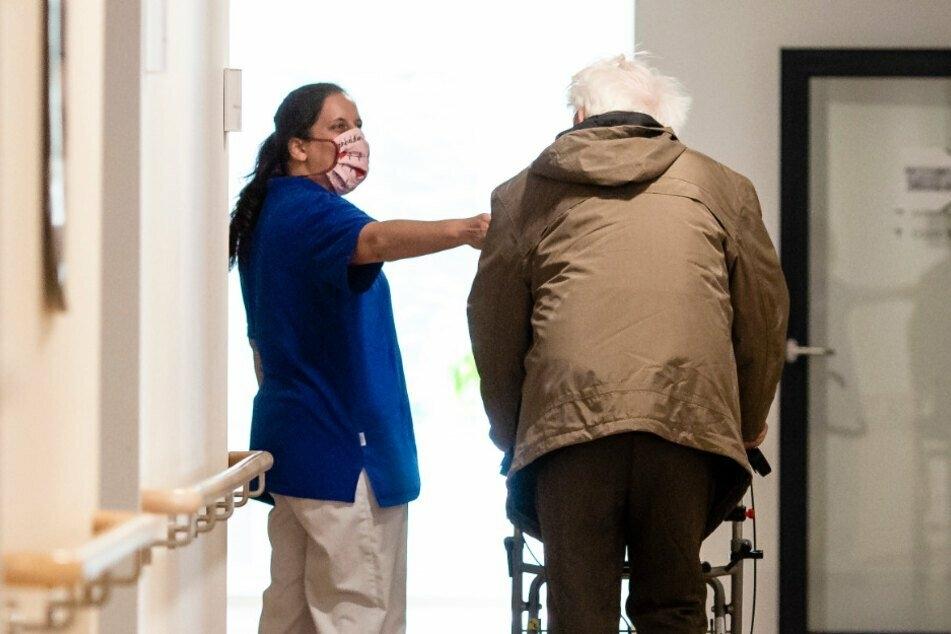 Pflegeheime in Sachsen sind besonders von Corona-Krise betroffen.