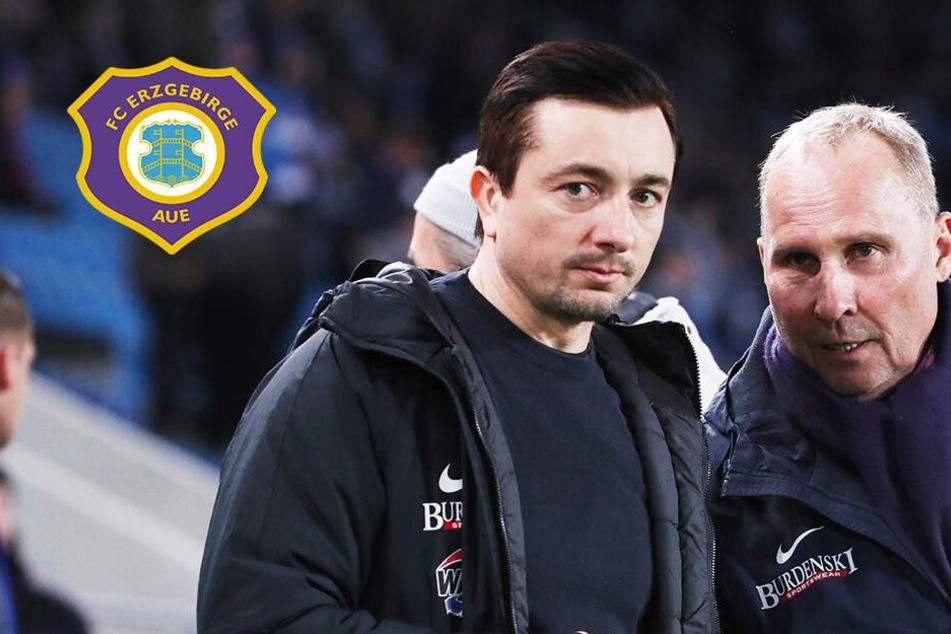 Vorm Ingolstadt-Spiel Aues Coach Meyer zieht die Zügel an!
