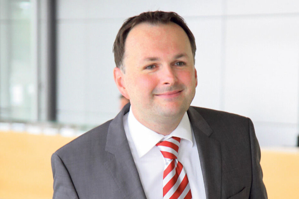 Stadtrat André Schollbach (38, Linke)