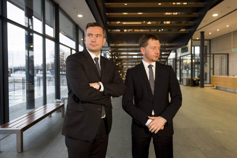 """Für Vize-MP Martin Dulig (44, SPD) ist das Datenleck ein """"skandalöser Vorgang""""."""