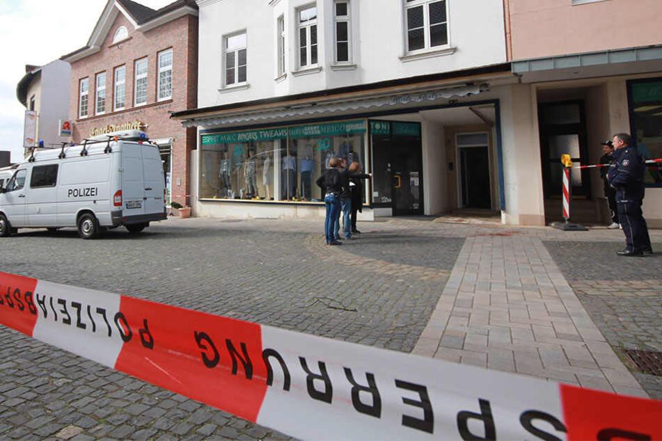 In diesem Haus in der Marktstraße fand die Bluttat statt.